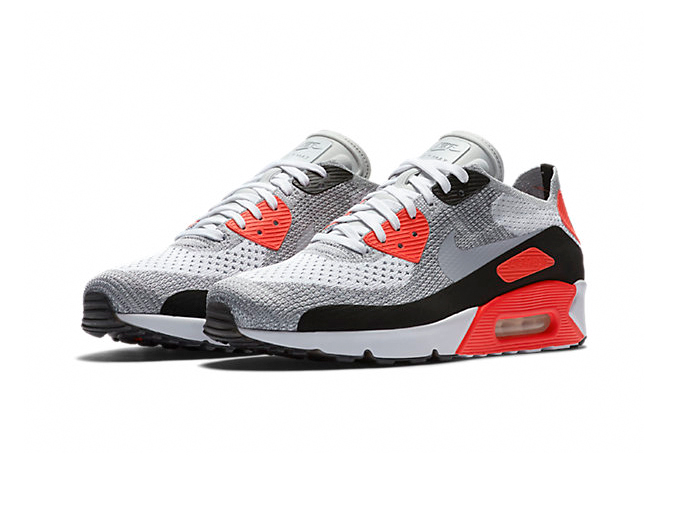 Nike Air Max 90 Ultra 2.0 Flyknit «Infrared»