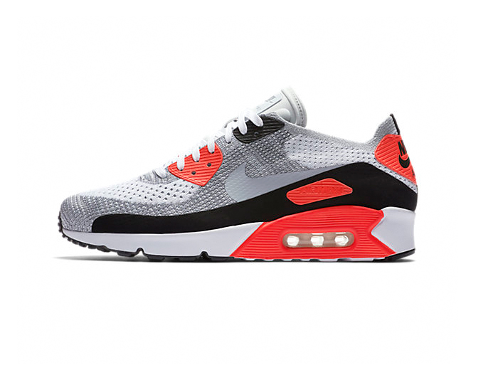 """Nike Air Max 90 Ultra 2.0 Flyknit """"Infrared"""""""