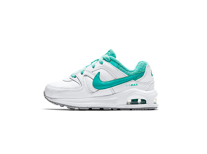 Nike Air Max Command Flex Leather «White Hyperturquoise»