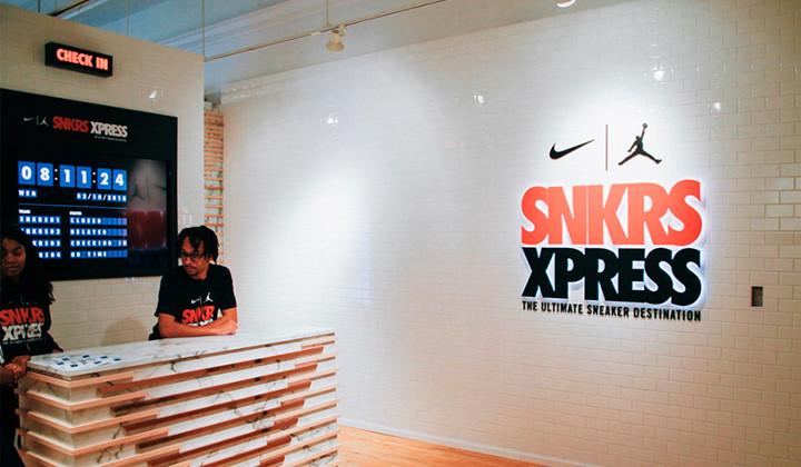 Nike SNKRS XPRESS, un paraíso para los amantes de las zapas