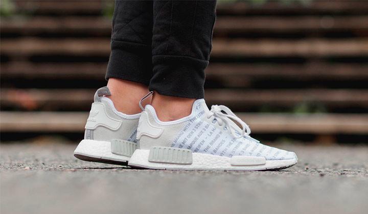 Nuevas Adidas NMD R1 Whiteout