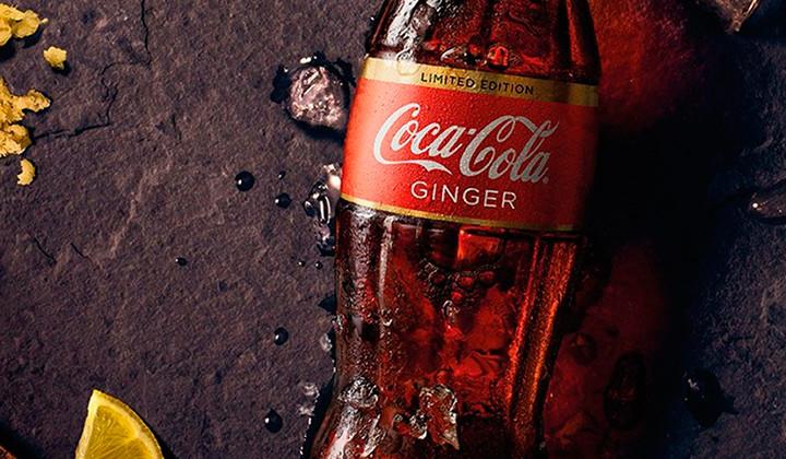Nueva Coca-Cola con sabor a Jengibre