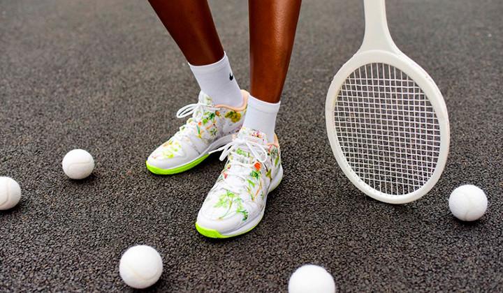 "Nueva colaboración de Nike Court x Liberty ""Dawn Meadow"""