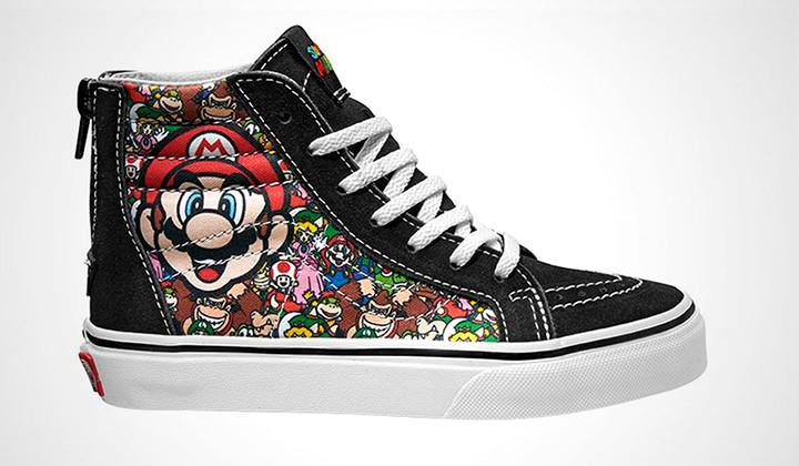 Nueva Colección de Vans x Nintendo