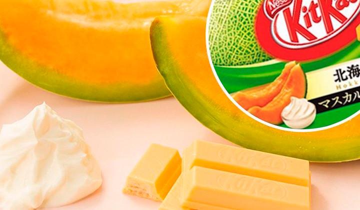 Nuevo Kit Kat con sabor a melón y mascarpone