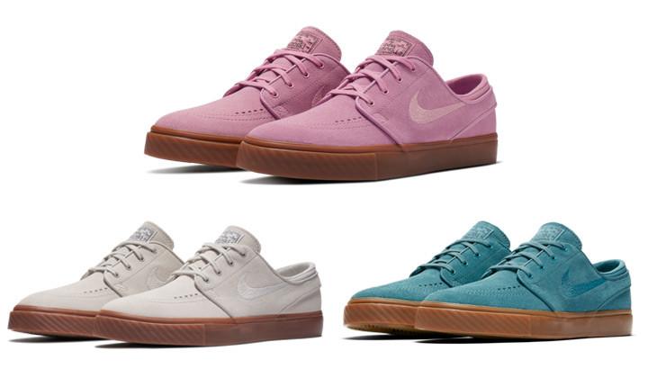 Nuevos colores de las Nike SB Janoski