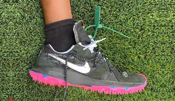 Virgil Abloh muestra un posible nuevo modelo de Off-white x Nike en el Coachella!