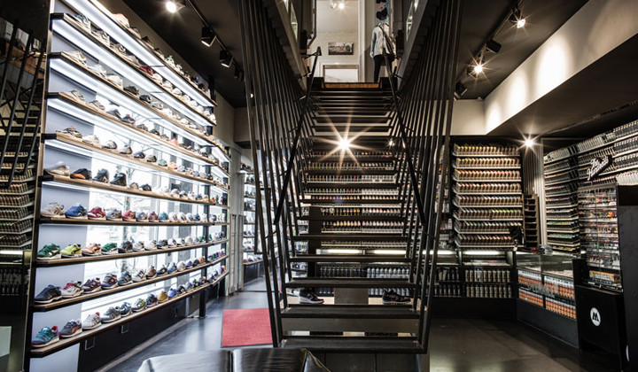 Overkill, la mejor tienda de sneakers en Berlín