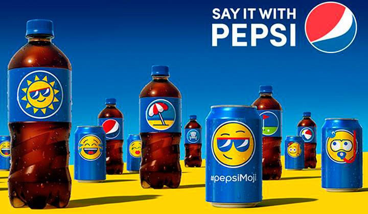 Pepsimoji, la última campaña de Pepsi