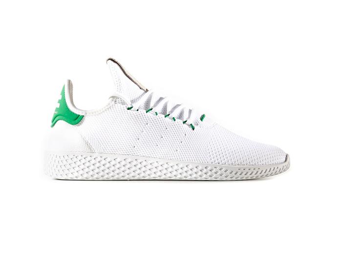 Pharrell x Adidas Tennis Hu «White Green»