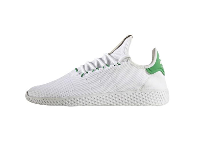 "Pharrell x Adidas Tennis Hu ""White Green"""