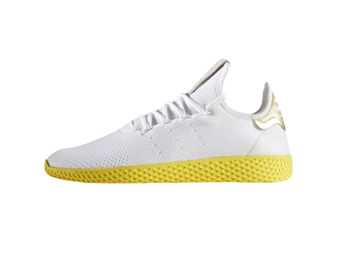 """Pharrell x Adidas Tennis Hu """"White Yellow"""""""