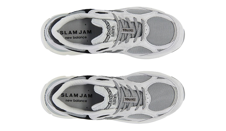 SlamJam x New Balance 990v3