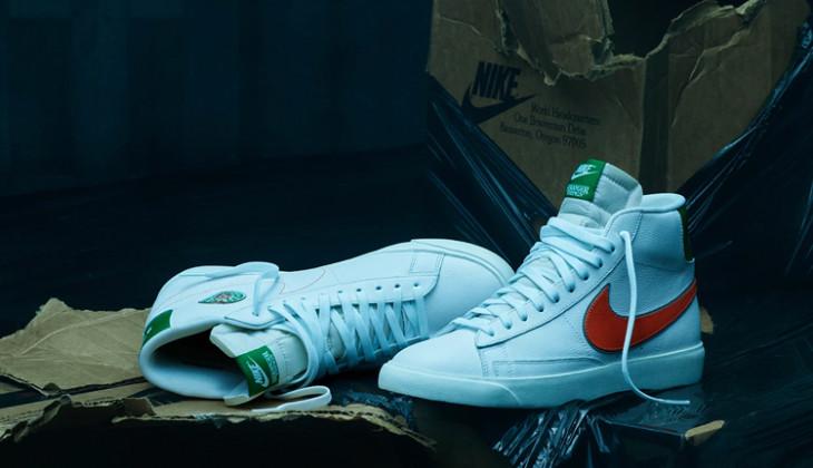 Stranger Things x Nike Blazer Mid Hawkins High CJ6101-100