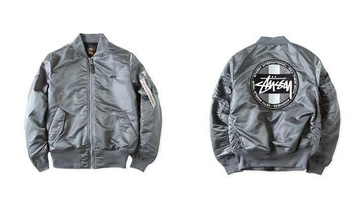 Stussy x Alpha Industries
