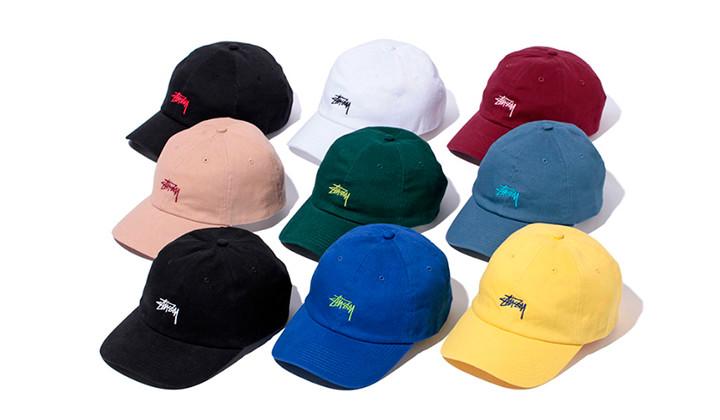 La gorra más popular de Stussy en 9 nuevos colorways