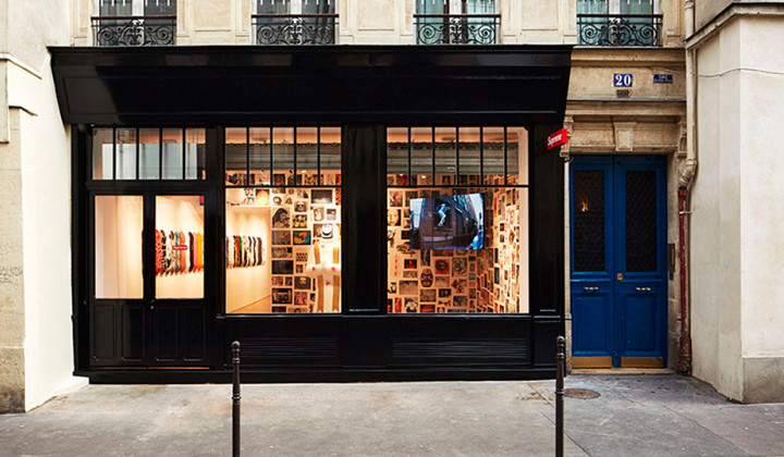 Supreme abre nueva tienda en París