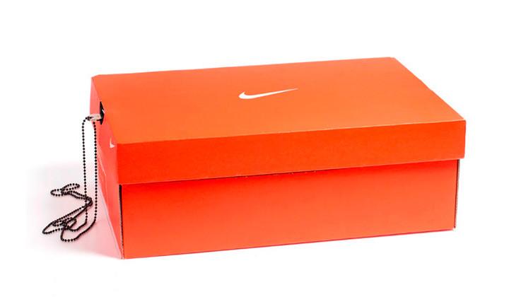 Ten tus secretos a salvo con la caja de Nike, Mandem Safe