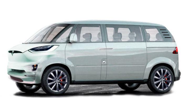 Tesla sacará un mini bus inspirado en la T1 de Volkswagen