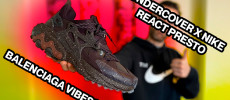 BackseriesTV: Balenciaga Track vibes por 180€ - Undercover x Nike React Presto