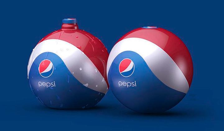 Una Pepsi con forma de pelota?
