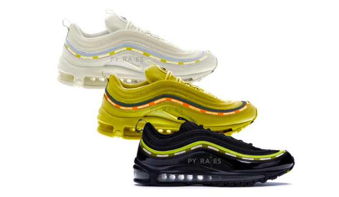 Nuevos Colores Undefeated x Nike Air Max 97