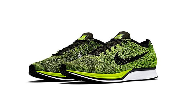 "ac7e2c044b0 Ya disponibles las Nike Flyknit Racer ""Volt"""