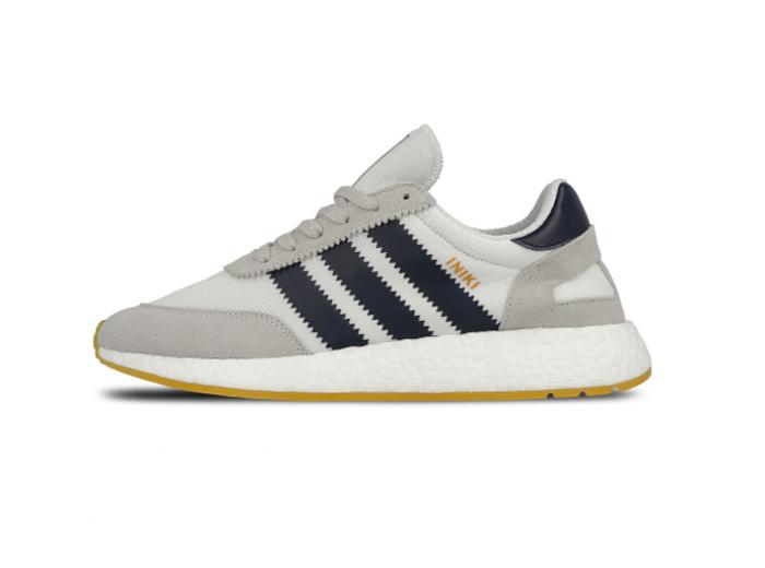 """Adidas Iniki Runner """"White Collegiate Navy"""""""