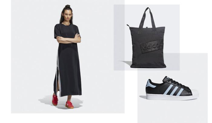 Cómo vestir un Look Total Black adidas Originals?