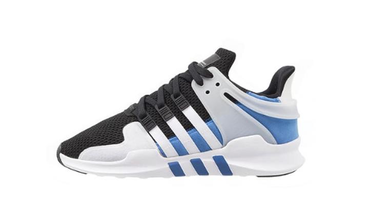 adidas eqt adv support black blue