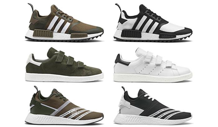 adidas Originals x White Mountaineering lanzan siete nuevos modelos de zapatillas