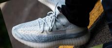 Fotos de las nuevas adidas Yeezy Boost 350 v2 Cloud White On Feet