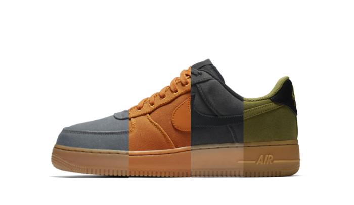Nuevos colores para las AF-1 con el Nike Air Force 1 07 LV8 Style Pack