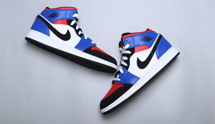 Las nuevas Air Jordan 1 mid Top 3 colorway