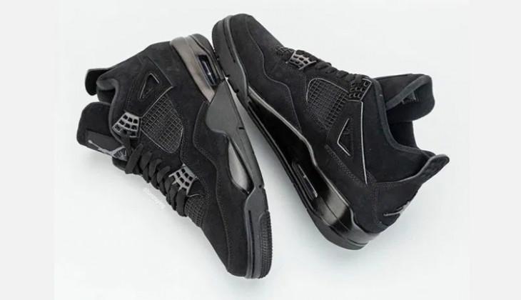 Fotos Oficiales de las Air Jordan 4 Black Cat