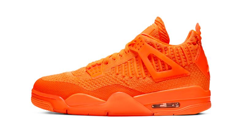 air jordan 4 orange