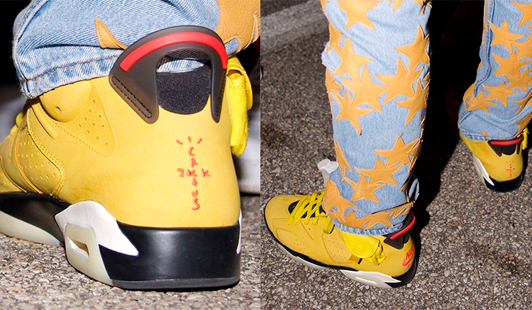 Elevado bolita radio  Nuevo color de las Travis Scott x Air Jordan 6 en Amarillo - Backseries