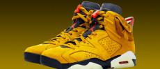 Nuevo color de las Travis Scott x Air Jordan 6 en Amarillo