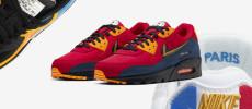 Date una vuelta por el mundo con el Nike Air Max 90 City Pack