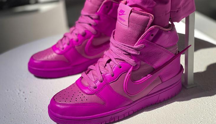 Ambush x Nike Dunk HI Pink