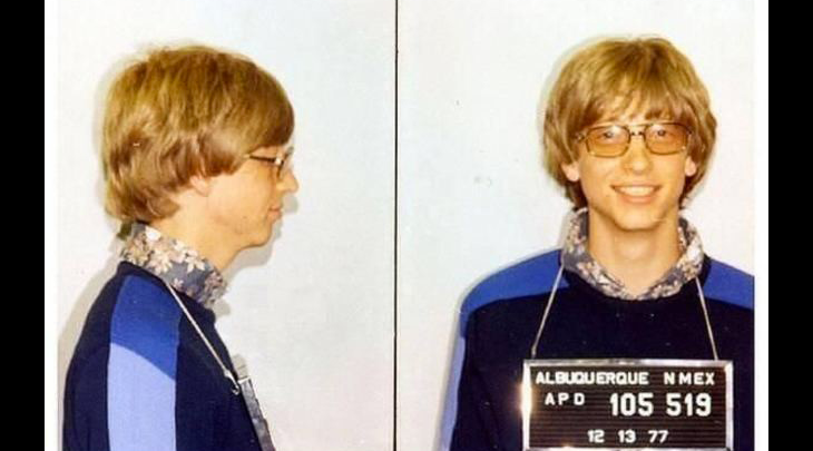 10 fotos de famosos arrestados