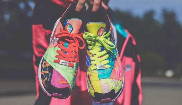 Un motivo más para encumbrarse: Atmos x Nike Air Max 2 Light