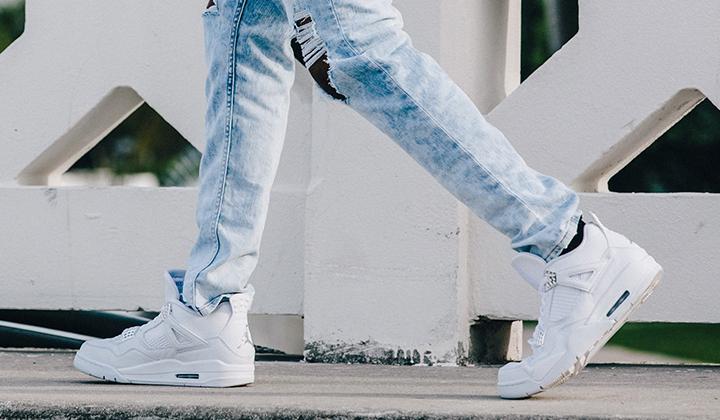 backseries-Air-Jordan-IV-Retro-Pure-Money-on-feet