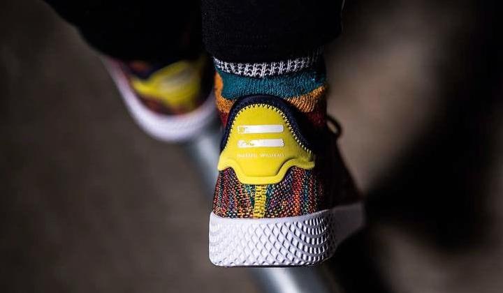 backseries-Pharrell-Adidas-HU-Mexican-Blanket-on-feet