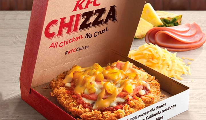 Chicken + Pizza = The Chizza