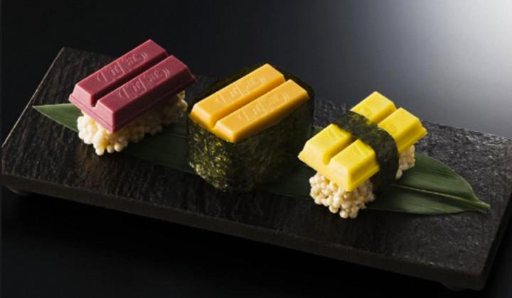 Kit Kat lanza una edición limitada inspirada en el sushi