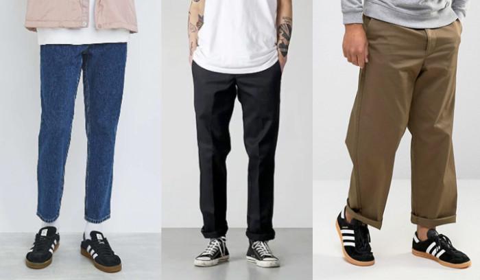 Nuevas tendencias en pantalones...