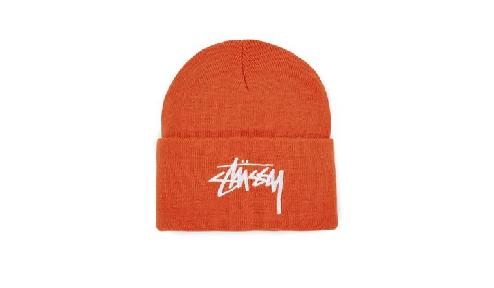 backseries-productos-en-rebajas-stussy-stock-orange-cuff-beanie