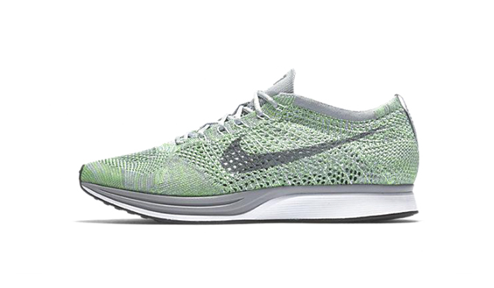backseries-sneakers-premium-Nike-flyknit-racer-pistacchio