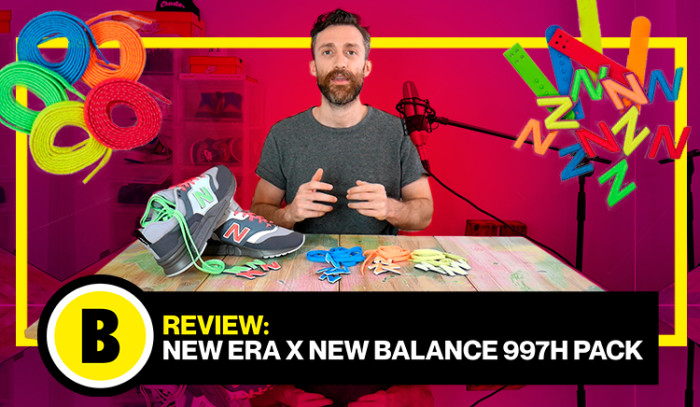 Backseries TV: Review New Era x New Balance 997H Pack